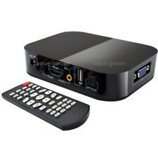 Mini Full HD 1080P Media Player SD/MMC MKV USB VGA for 2TB External Hard Drive
