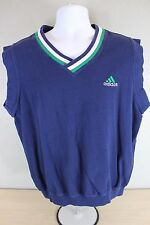 Adidas Athletic Tennis Golf Vest Size L Large