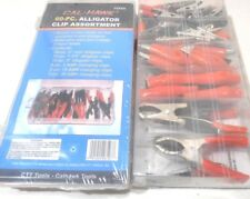 60 PC. ALLIGATOR ELECTRICAL CLIPS CHARGING CLAMPS JUMPER LEADS ASSORTED KIT
