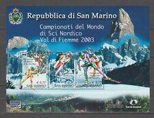 15096 SAN MARINO 2003 MNH**  Campionati Sci Nordico BF