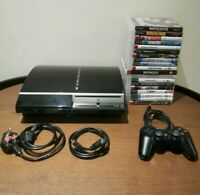 Sony PlayStation 3 80GB Console Mega Bundle 19 Boxed Games & Controller!