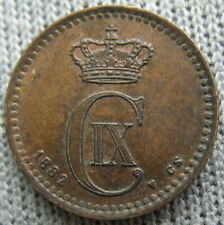 1882 Denmark 1 Ore