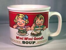 Vintage 1993 Campbell's Soup Mm Mm Good! Soup Westwood Cup Bowl Coffee Mug