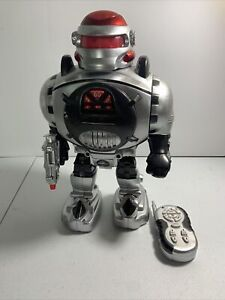Think Gizmos Wireless Remote Control Infrared Walking, Talking, Shooting robot