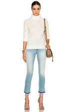 "$240 Paige Denim Size Small ""Bay"" Turtle Neck Sweater Custard Shopbop P323"