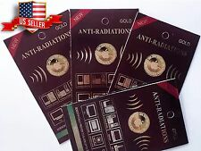 wholesale 10x Anti Radiation Patch Sticker 99% Radiation Protection Gold-24K