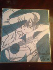 Sword art Online alicization World Premiere Exclusive Kirito Shikishi Signboard