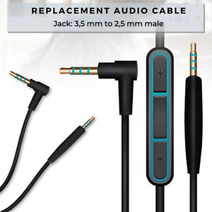Headphone Mic Cable for PS4 with Microphone and Volume buttons No Earphones PS3