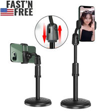 Selfie Stick Height Adjustable Desk Stand Cell Phone Holder for iPhone Samsung