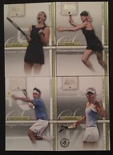 2007 ACE STRAIGHT SETS 50 CARD SET ROGER FEDERER SHARAPOVA WOZNIACKI ROOKIE RC