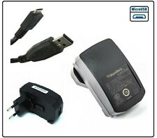 Genuine Blackberry EU Mains Charger for Bold 9700 9780 9790 Curve 8520 9300 9320