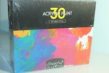 Magicfly 30 Farben waschfeste Acrylfarben Set, je 60ml Flaschen X0010NTCGT