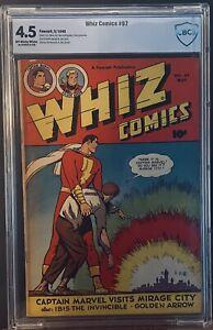 Whiz Comics #97 (1948) CBCS 4.5 Golden Age Captain Marvel CC Beck Cover not CGC
