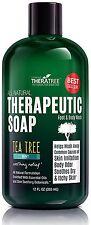 Oleavine Antifungal Soap with Tea Tree and Neem for Body 12 oz