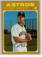 Michael Brantley 2020 Topps Heritage 5x7 Gold #425 /10 Astros