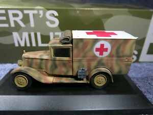 Solido / BMM CAPTURED CITROEN Cf 4 AMBULANCE ;21.PzDiv;NORMANDY 1944 (1/43)