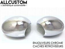 ENJOLIVEURS CHROME CACHES COQUES RETROVISEURS pour MINI R55 R56 R57 R60 LHD 07-