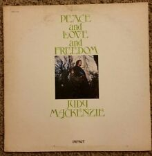 Peace and Love and Freedom Judy Mackenzie LP