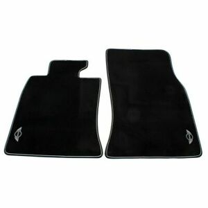 Genuine Front Black Carpeted Floor Mats Set for Mini R55 R56 R57 Cooper