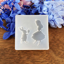 Square Cartoon Cute Fondant Cake Decorating Mold Chocolate Mould Silicone Tools