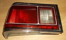 1972 AMC HORNET LEFT REAR DRIVERS SIDE TAIL LAMP ASSEMBLY W/BACK UP LAMP, USED