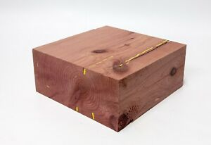 Woodturning 1 Block Schalenrohling Juniper Precious Wood Craft Wood Cedar 639