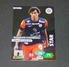 STAMBOULI STAR MONTPELLIER MHSC MOSSON FOOTBALL ADRENALYN CARD PANINI 2013-2014