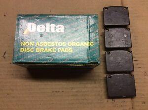 New Delta 763-D117 Organic Disc Brake Pad Pads