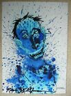Ralph Steadman Hand Signed in Ink Shane MacGowan Print from The Pogues