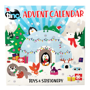 Kids Toys & Stationery Advent Calendar Countdown to Christmas 24 Doors