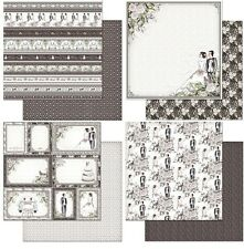 "Feature Art 1x Wedding Double-Sided Cardstock 12""X12"" Scrappapier Hochzeit 30,5"