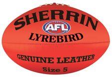Sherrin Lyrebird Leather Australian Rules Football - Size 5