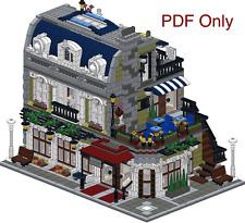 Lego Custom Modular Instruction PDF ONLY Parisian 10243