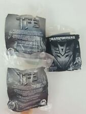 Transformers Bumblebee Burger King. LOT of 3