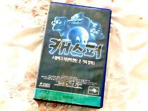 Casper 1995 Universal VHS Tape Clamshell Case Korean Version Free Shipping!