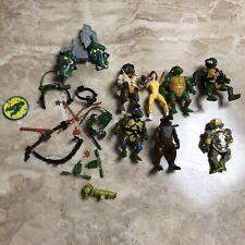 Teenage Mutant Ninja Turtles Figures 1980s Metalhead Cyborg Robot Splinter April
