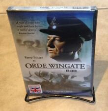 Orde Wingate Barry Foster BBC DVD NEW factory sealed 2 DVD set