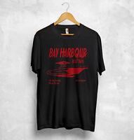 Dexter Slice Of Life T Shirt Bay Harbour TV Series Killer Boat Blood Top Morgan