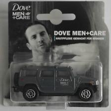 "Majorette - Hummer H2 grau ""Dove Men + Care"" Neu/OVP Werbemodell / Promotional"