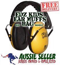 EDZ KIDZ Ear Muffs for babys/kids 6 mths-16 yrs YELLOW Plus Bag -  FREE SHIPPING