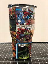 Yeti Ozark 20 Oz 30 Oz Comic Book Avengers Thanos Wrapped Cup Rambler Tumbler