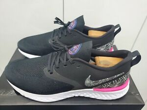 Nike Odyssey React 2 Flyknit - Run To A Magical Place - Fsh Pink/Black - Size 12