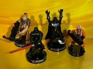 Star Wars - Attacktix Loose - Darth Vader, Chewbacca, X-Wing Collection