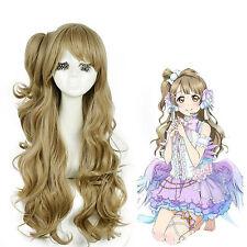 Love Live! School Idol Project Minami Kotori long Flaxen Cosplay Wigs USA Ship