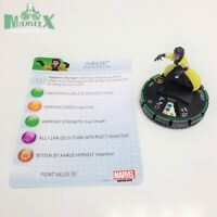 Heroclix Wolverine and the X-Men set Jubilee #047b Prime figure w/card!