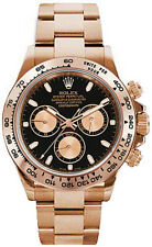 Rolex Daytona Chronograph 18k Rose Gold Watch Box & Papers 116505
