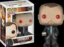 NIB Funko Pop TV: Supernatural - Crowley Red Eyes Exclusive Vinyl Figure
