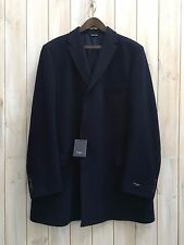 Paul Smith London Epsom Abrigo Hecho en Italia, 90% lana, 10% Cashmere 48 XL/XXL BNWT