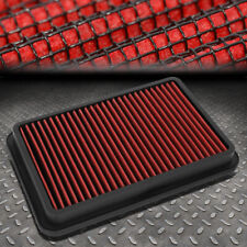 FOR 92-02 TOYOTA COROLLA/MAZDA MILLENIA WASHABLE DROP IN AIR FILTER PANEL RED