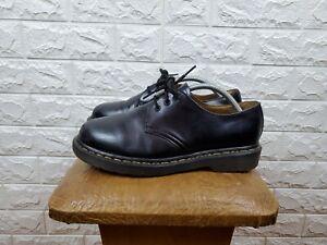 Dr Martens 1461 Black Leather 3 Eye Oxford Derby Shoes EU 39/ UK 6 / US M7/US 8L